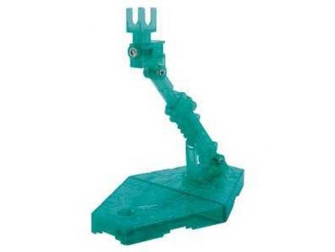 BANDAI MODEL KIT ACTION BASE 2 SPARKLE GREEN CLEAR MODEL KIT
