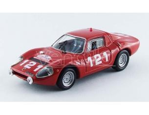 Best Model BT9522 ABARTH OT 1300 N.121 RETIRED TOUR DE CORSE 1965 SCHELESSER-B.LENA 1:43 Modellino
