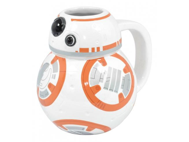 Tazza ceramica robot BB-8 Star Wars Episodio VII 14x11x12 cm