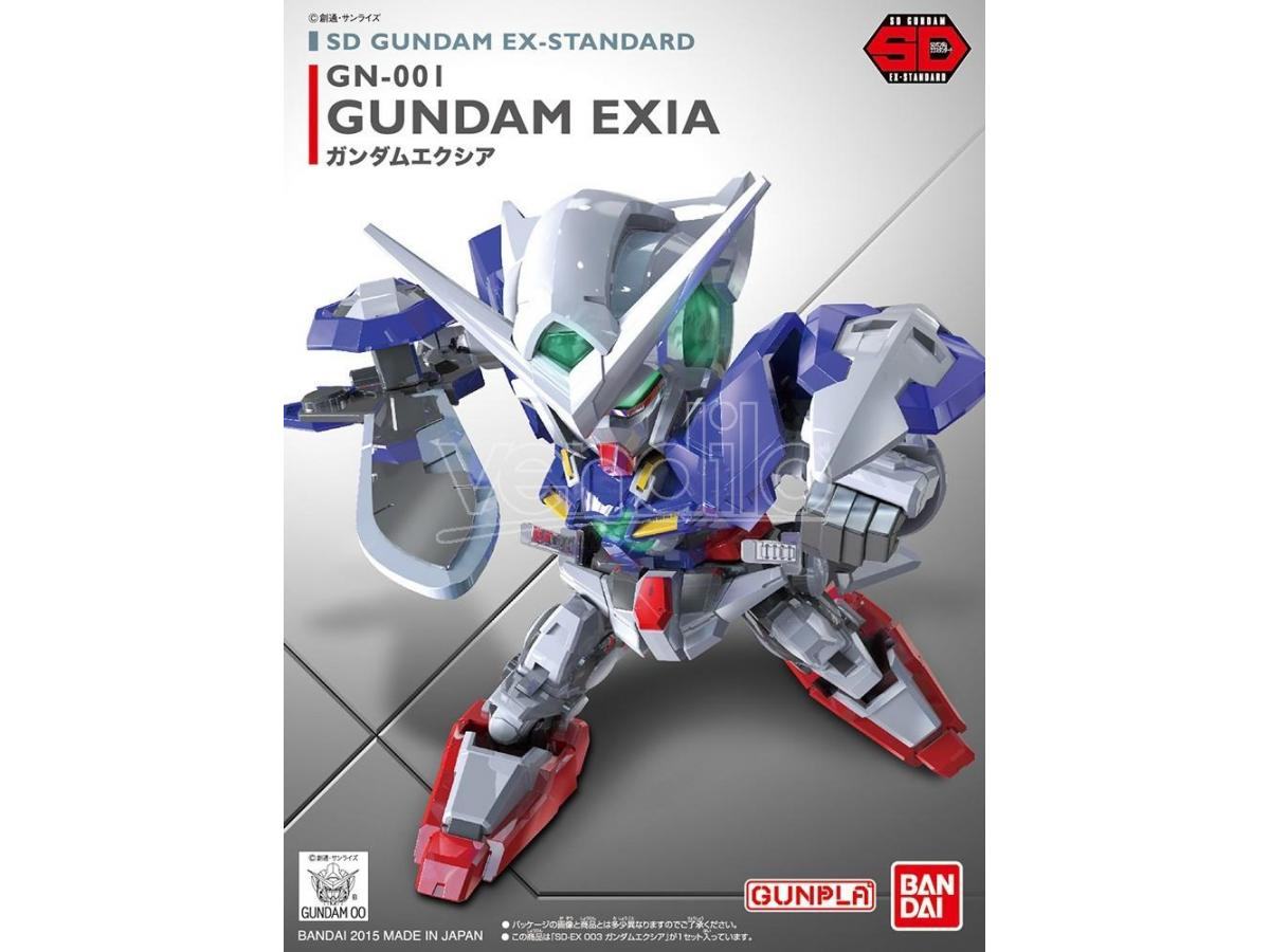 BANDAI MODEL KIT SD GUNDAM EXIA EX STD 003 MODEL KIT