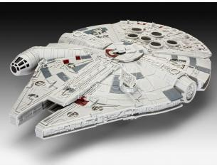 Modellino Millennium Falcon Star Wars Episode VII con Luci e Suoni 20 cm Revell