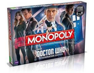 Gioco da Tavolo Monopoli Doctor Who Versione inglese Winning Moves