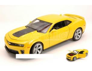 Welly WE4042 CHEVROLET CAMARO ZL1 2013 YELLOW 1:24 Modellino