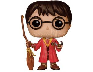Harry Potter  Funko  Pop Movies Vinile Figura Harry Versione Quidditch 9 Cm