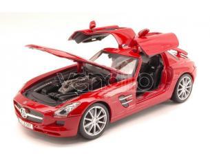 Maisto MI36196R MERCEDES SLS AMG 2010 RED 1:18 Modellino