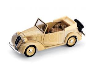 Brumm BM0085 FIAT 1100 (508C) CABRIOLET COLONIALE 1937 BEIGE 1:43 Modellino
