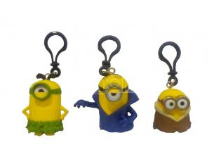 GIALAMAS MINIONS MOVIE KCHAIN SET (3) PORTACHIAVI