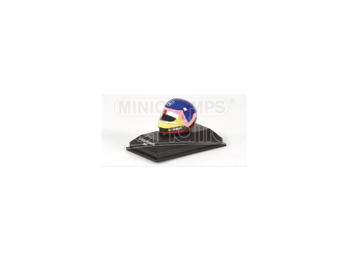 Minichamps 301010010 Casco Casco Bell Jacques Villeneuve 2001 Modellino