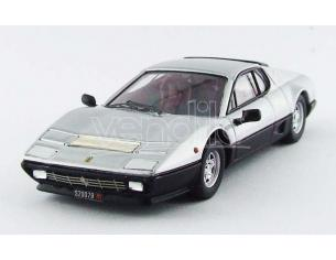 Best Model BT9597 FERRARI 512 BB 1976 SILVER/BLACK 1:43 Modellino