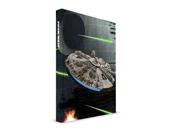 SD TOYS SW MILLENIUM FALCON NOTEBOOK LIGHT/SOUND TACCUINO