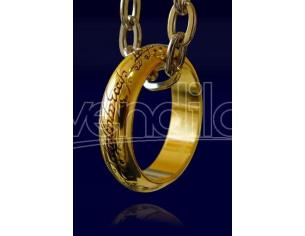 Annello del signore degli anelli Tesoro Lord of the Rings Ring gold plated Noble Collection