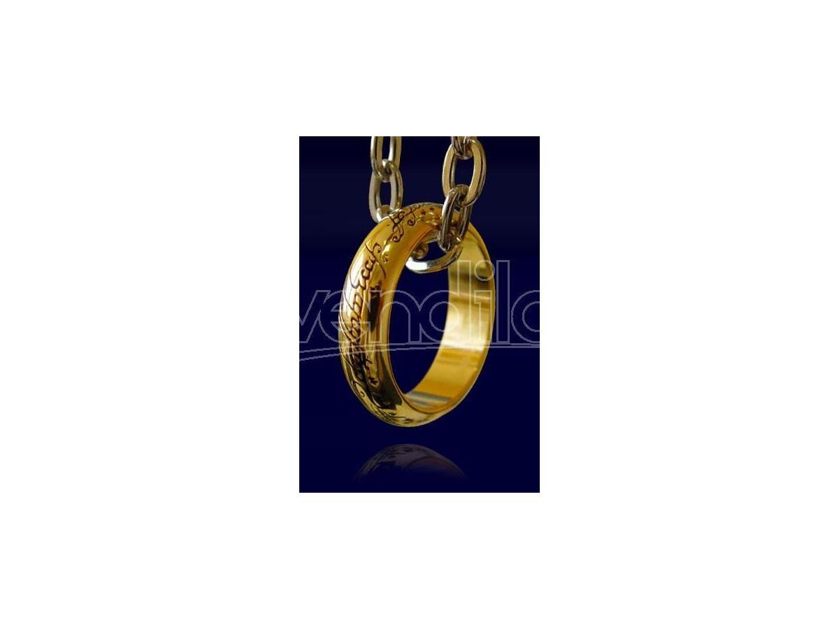 Anello e Catenina Replica 1:1 Il Signore degli Anelli Noble Collection