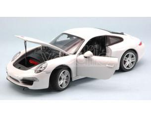 RASTAR RAT56200W PORSCHE 911 3.8 CARRERA S 2011 WHITE 1:24 Modellino