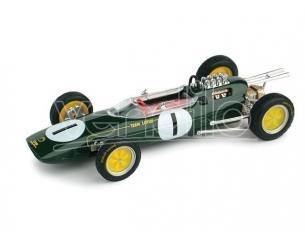 Brumm BM0331 LOTUS 25 J.CLARK 1963 N.1 WINNER BELGIUM GP WORLD CHAMPION 1:43 Modellino