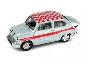 Brumm BM0351 FIAT 1000 ABARTH BERLINA COLORAZIONE CORSA UFFICIALE ABARTH 1966 1:43 Modellino
