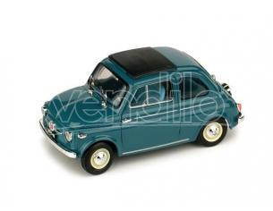 Brumm BM0365-05 FIAT NUOVA 500 TETTO APRIBILE CHIUSA 1959 BLU 1:43 Modellino