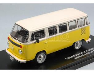Triple 9 T9-43021 VW T2 BUS KOMBI 1976 YELLOW/WHITE 1:43 Modellino