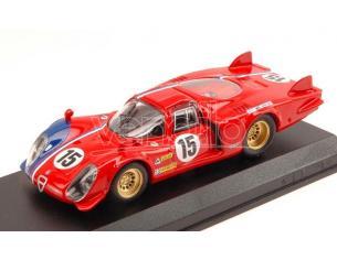 Best Model BT9612 ALFA ROMEO 33.2 LM N.15 LM TEST 1969 PILETTE-SLOTEMAKER 1:43 Modellino