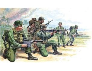 Italeri IT6078 US SPECIAL FORCES VIETNAM WAR KIT 1:72 Modellino