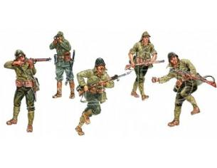 Italeri IT6170 WWII JAPANESE INFANTRY  KIT 1:72 Modellino