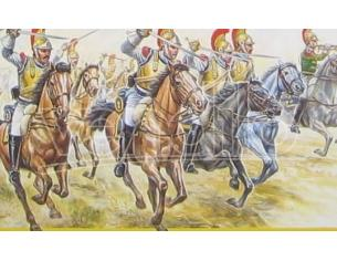 Italeri IT6003 CARABINIERS FRENCH CAVALRY KIT 1:72 Modellino