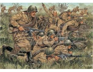 Italeri IT6057 WW II RUSSIAN INFANTRY KIT 1:72 Modellino