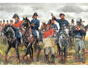 Italeri IT6065 WATERLOO 200 YEARS NAPOLEONIC WARS BRITISH & PRUSSIAN KIT 1:72 Modellino