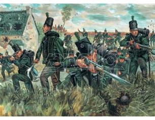 Italeri It6083 Waterloo 200 Years British 95th Reg.green Giacca Kit 1:72 Modellino