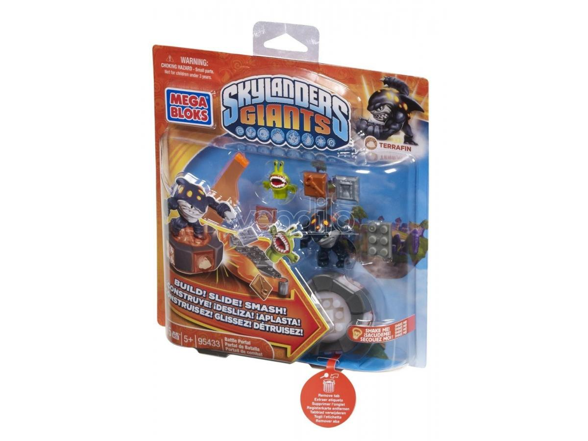 Mega Bloks 95433 Skylanders Ignitor's Battle Portal Terrafin (Giocattolo)