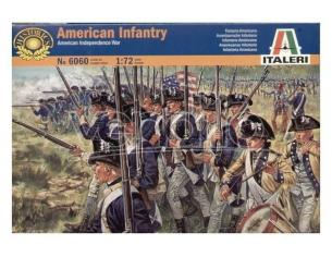 Italeri IT6060 AMERICAN INFANTRY KIT 1:72 Modellino