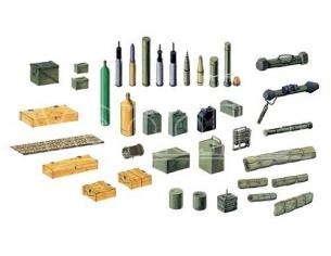 Italeri IT6423 MODERN BATTLE ACCESSORIES KIT 1:35 Modellino