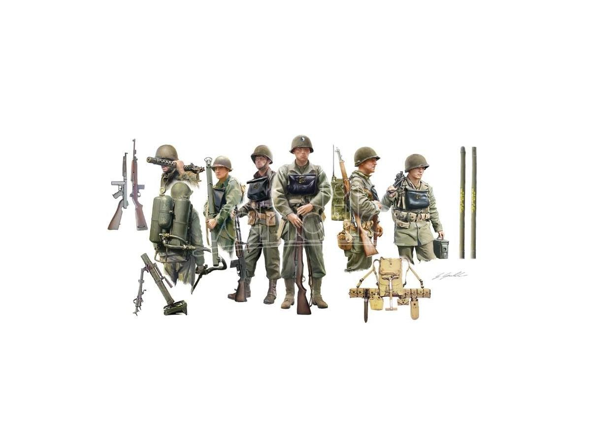 Italeri IT6522 U.S. INFANTRY ON BOARD KIT 1:35 Modellino