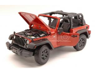 Maisto MI31610C JEEP WRANGLER OPEN TOP 2014 COPPER METALLIC 1:18 Modellino