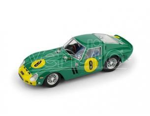 Brumm BM0564 FERRARI 250 GTO N.8 3rd GP.ANGOLA 1962 DAVID PIPER 1:43 Modellino