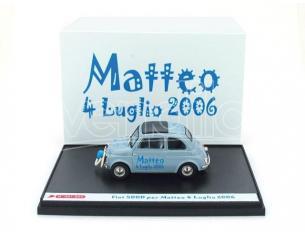 Brumm BMS0701 FIAT 500 D 1960 'MATTEO' 1:43 Modellino