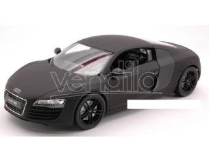 Welly WE2348 AUDI R 8 2007 MATT BLACK 1:24 Modellino