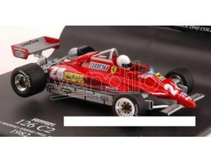 Hot Wheels HW50218 FERRARI 126 C 2 D.PIRONI 1982 N.28 WINNER S.MARINO GP (IMOLA) 1:43 Modellino