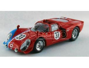 Best Model BT9551 ALFA ROMEO 33.2 N.37 TEST LE MANS 1968 GOSSELIN-TROSCH 1:43 Modellino