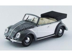 Rio RI4435 VW CABRIO KARMANN 1949 GREY/WHITE 1:43 Modellino
