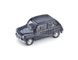 Brumm BM0318-10 FIAT 600D TRASFORMABILE CHIUSA 1960 BLEU SCURO 456 1:43 Modellino