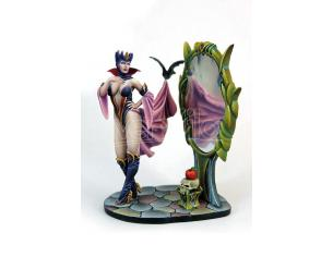 KABUKI KABUKI MINIATURE EVIL QUEEN 54MM MODEL KIT