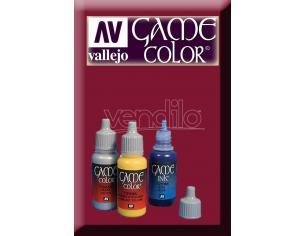 VALLEJO GAME COLOR SCAR RED 72012 COLORI