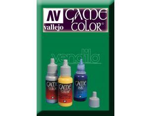 VALLEJO GAME COLOR GREEN INK 72089 COLORI