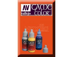 Vallejo Game Color Heavy Arancione Exopaq 72152 Colori
