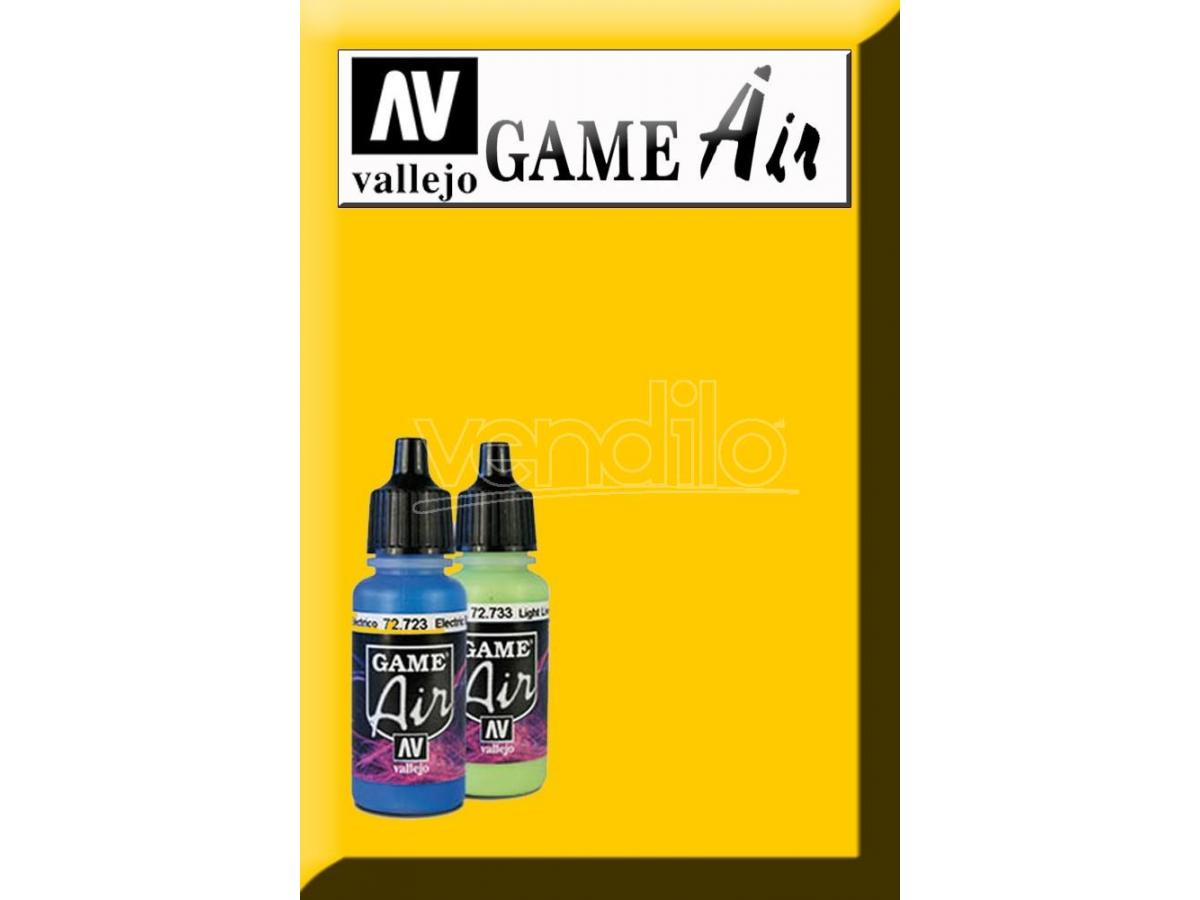 VALLEJO GAME AIR SUNBLAST YELLOW 72706 COLORI