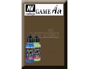 VALLEJO GAME AIR BEASTY BROWN 72743 COLORI