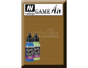 VALLEJO GAME AIR PRIMER LEATHER BROWN 70626 COLORI