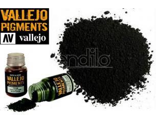 VALLEJO PIGMENT CARBON BLACK (SMOKE BLACK) 73116 COLORI