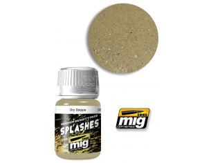 AMMO BY MIG JIMENEZ SPLASHES & MUD TEXTURE DRY STEPPE 1751 COLORI