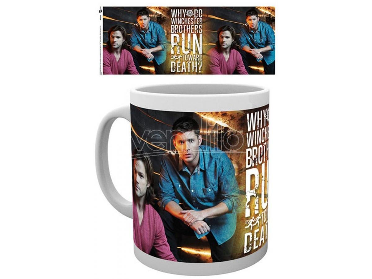 GB EYE SUPERNATURAL SAM AND DEAN MUG TAZZA